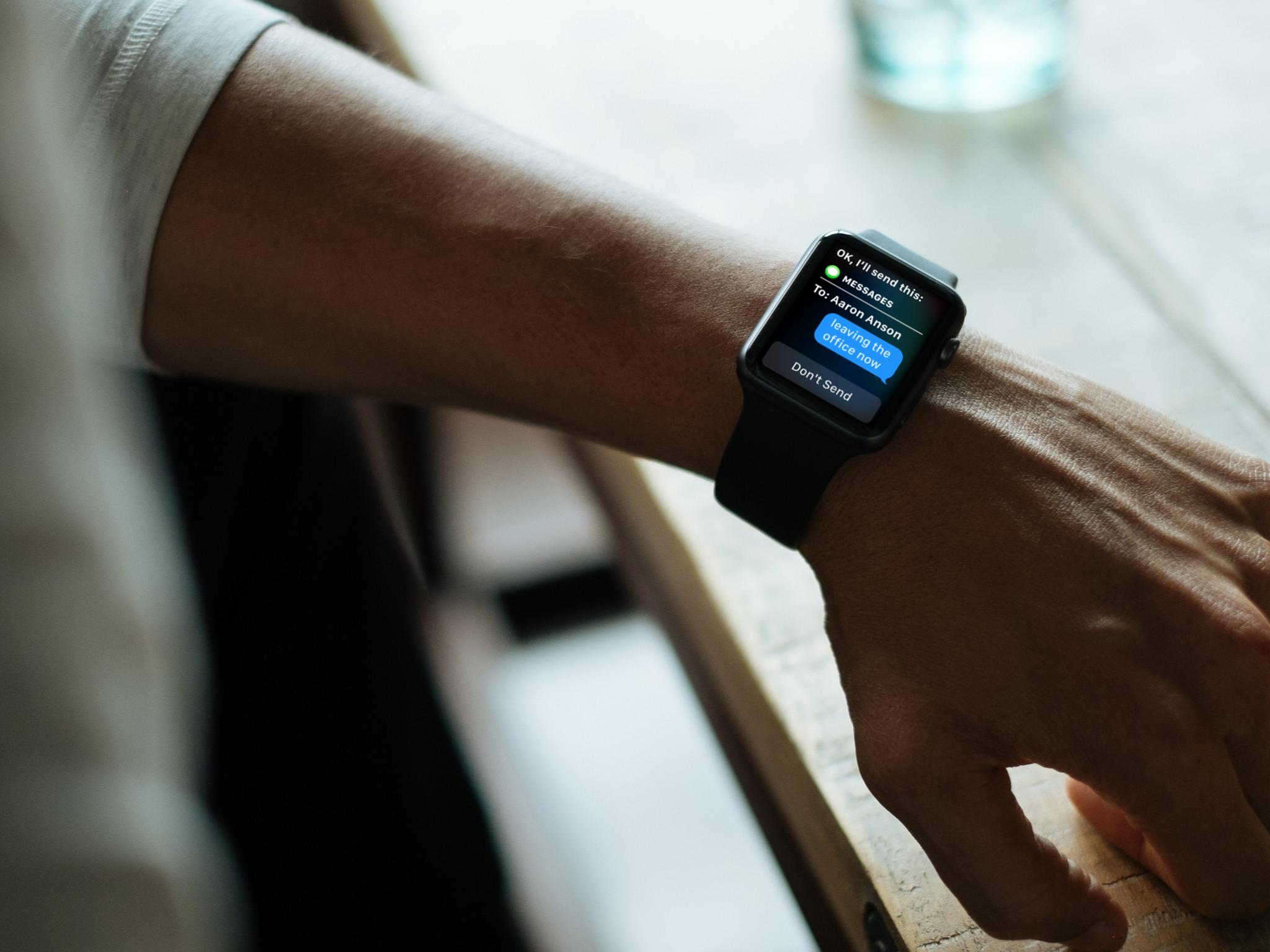 Auto-send on Apple Watch