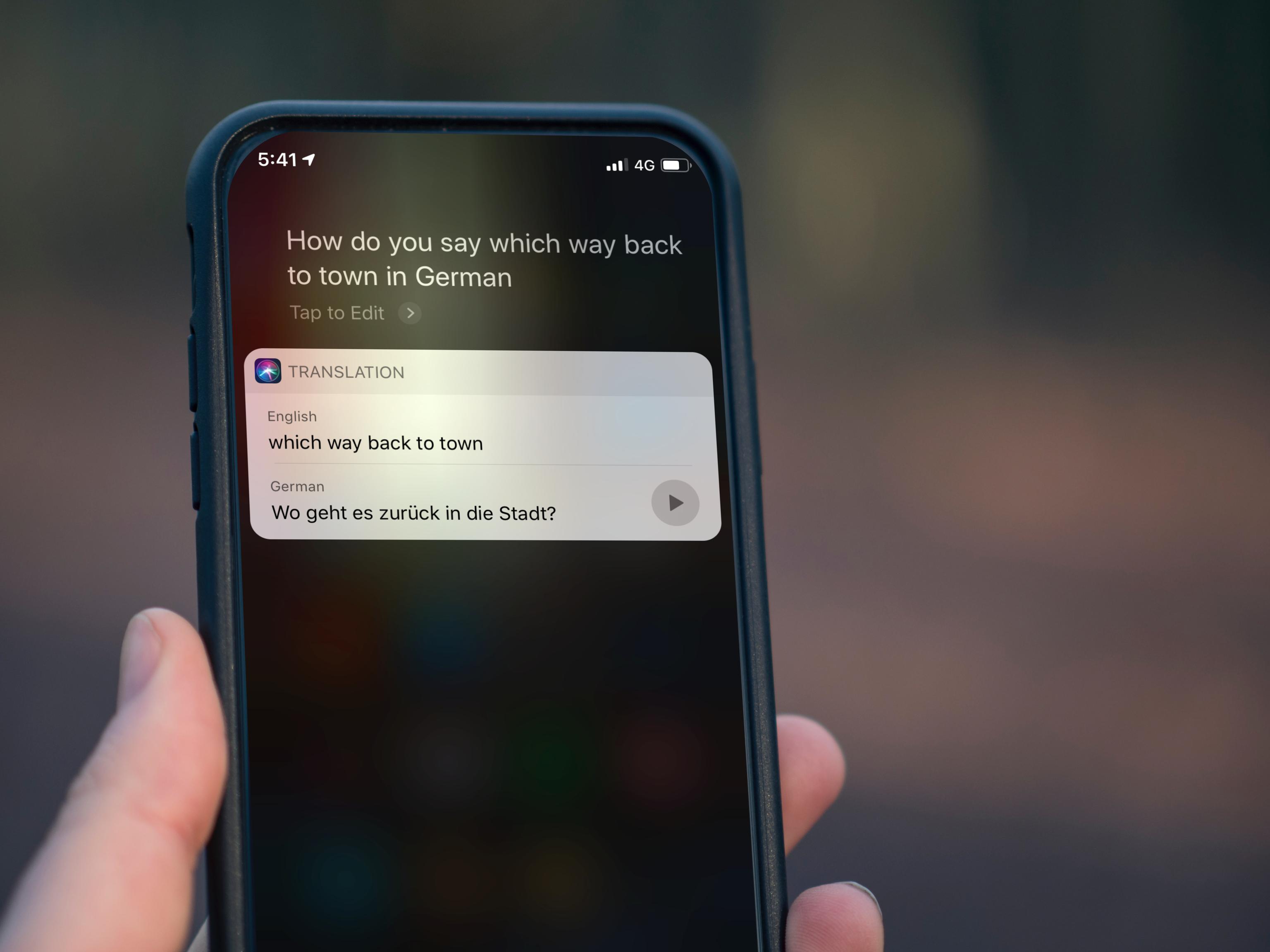 Siri Translations