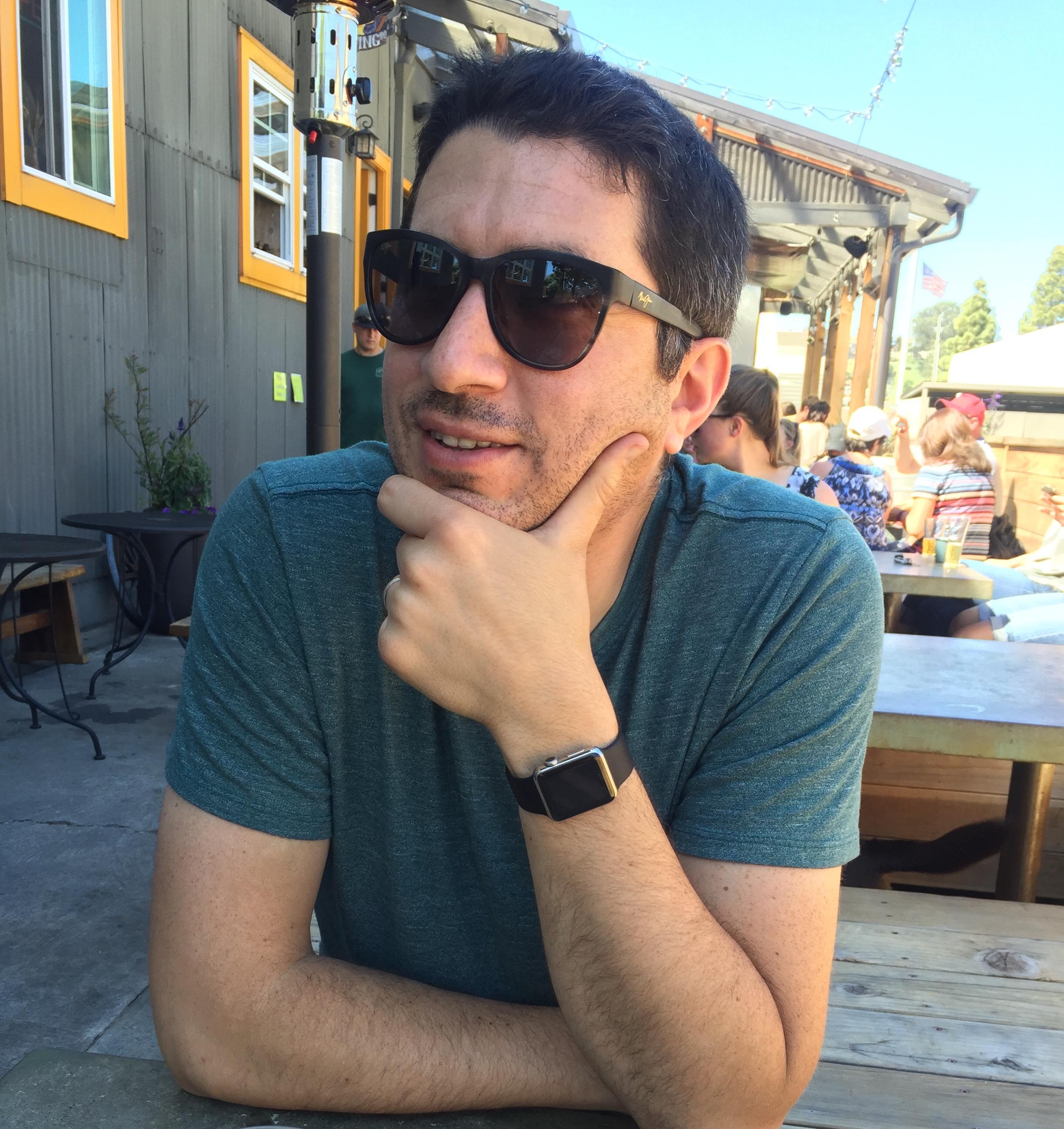 Me in Santa Cruz, California